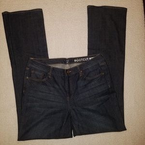 NY&C Like New Low Rise Bootcut Jeans